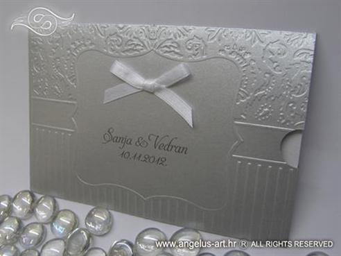 Silver Frame Charm