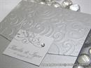 Pozivnica za vjenčanje Classic Silver