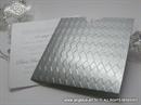 Pozivnica za vjenčanje Metallic Charm