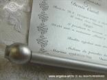 srebrna pozivniza za krsenje