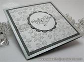 Ekskluzivna čestitka - Silver Snowflake