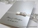 Zahvalnica za vjenčanje - Silver Shine Charm