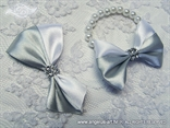 Boutonnieres & Corsages silver white color