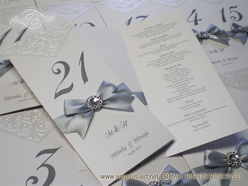 Luxury Silver Menu