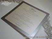 Menu za vjenčanje - Srebrni menu jednostavni