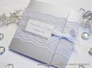 Silver Classic Lace Invitation Pozivnica