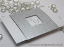 Pozivnica za vjenčanje Silver True Love