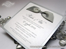 Pozivnica za vjenčanje - Lovely Silver Shine