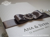 Zahvalnica za vjenčanje Silver Heart