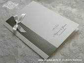 Zahvalnica za vjenčanje Silver Stripe