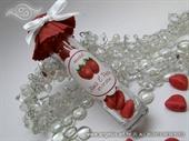 Konfet staklenka punjena bonbonima s okusom jagode