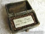 stara škrinjica za vjenčanje s perslonalizacijom