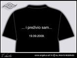 stražnja stranica majice s tiskom