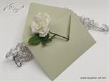 Pastelno zelene kuverte 12x17,5cm
