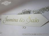 Tablica za vjenčanje - Tablica PUTOKAZ