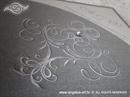 Pozivnica za vjenčanje Diamond Silver Swirl 2