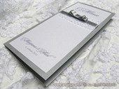Menu za svdbenu svečanost - Silver Lace