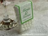 tic tac šaljivi konfet za vjenčanje sa srcima