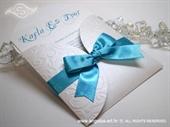Pozivnica za vjenčanje Turquoise Mini Beauty