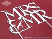 Mrs&Mr ukras za tortu