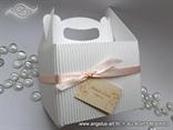 Bijela ukrasna kutija (manja)