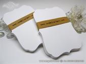 Vitičasti karton za tisak bijeli mat