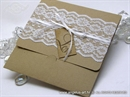 Wedding invitation - Vintage Lace Glorius 2