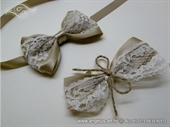 Vintage Lace Corsage and Boutonnieres