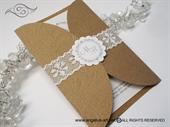 Natur Lace Divas 1 Pozivnica za vjenčanje