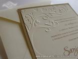 vintage retro pozivnica za eko vjencanje