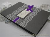 Dark Silver Lace Zahvalnica
