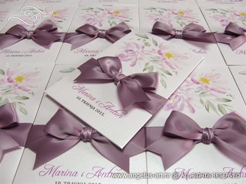 Lilac Flower Charm Zahvalnica