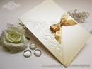 Zahvalnica za vjenčanje -LUXURY Cream White
