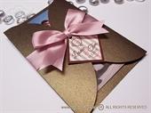 Zahvalnica za vjenčanje Brownie Pink Divas