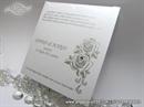 Zahvalnica za vjenčanje - Silver Rose Charm