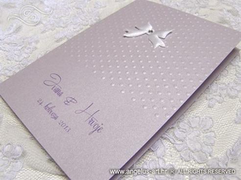 Lavender Bow