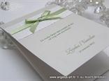 zahvalnica za vjenčanja s mašnom