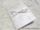 Zahvalnica za vjenčanje White Rose Love