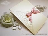 Zahvalnica za vjenčanje LUXURY PINK