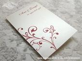Zahvalnica za vjenčanje Red Pearl