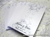 Zahvalnica za vjenčanje - Silver Line