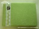 Knjiga gostiju za vjenčanje Zeleni broš