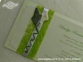 Pozivnica za vjenčanje Harmony Kala u travi