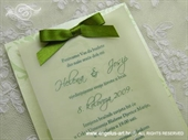 Pozivnica za vjenčanje Apple Blossom