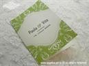 Zahvalnica za vjenčanje Modern Green
