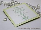 Zeleni jelovnik za svadbenu svečanost - jednostavni