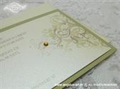 Pozivnica za vjenčanje Exclusive Cream & Gold Line