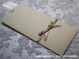 zlatna pozivnica na izvlačenje etui kuverta