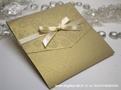 Pozivnica za vjenčanje Classic Gold