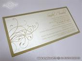 Pozivnica za vjenčanje - Exclusive Golden Line